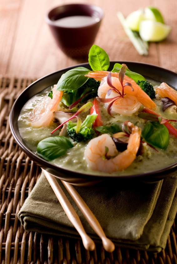 Thai Green Curry with Shrimp. Every single ingredient in this recipe ...