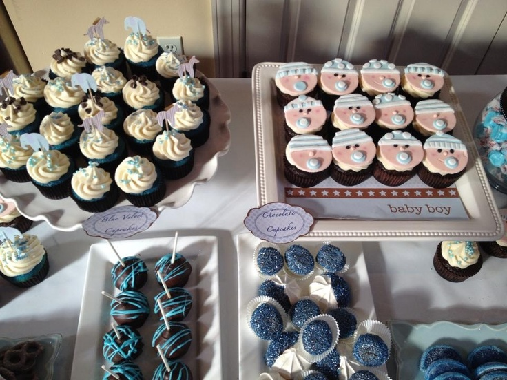 baby shower candy and dessert bar by dollface gourmet it 39 s a boy