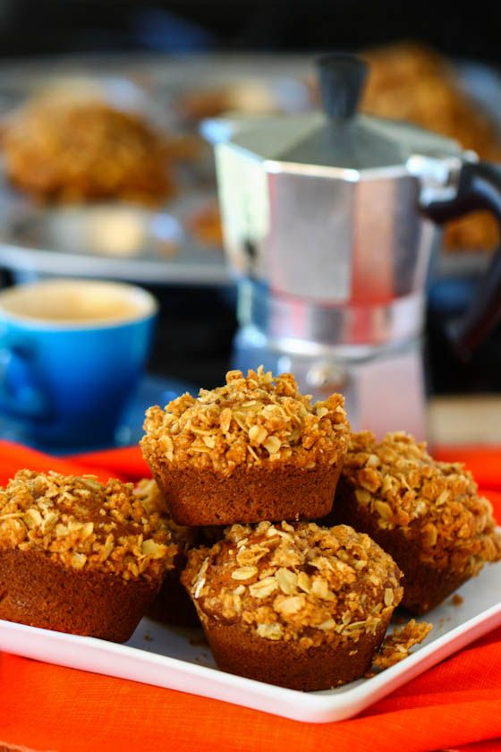Whole Wheat Pumpkin Spice Muffins | pumpkin recipes | Pinterest