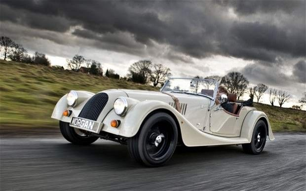 The Morgan Four Four Sports Car