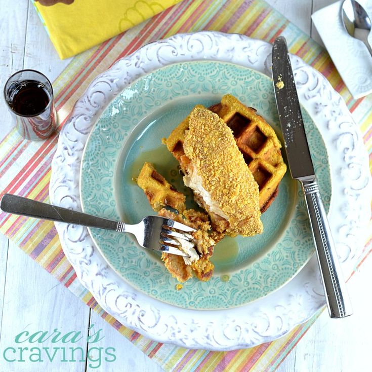 GF Chicken & Waffles   Main Dishes   Pinterest