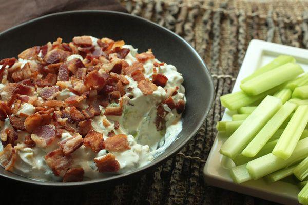 Cobb Salad Dip | Appetizers | Pinterest