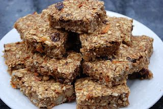 Gluten-Free Vegan Carrot Cake Oat Bars | Vegan Snack Bars :) | Pinter ...