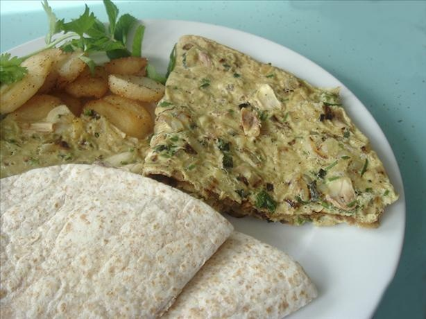 Indian Spiced Omelet Recipe