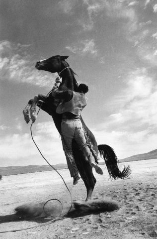 On the Set of The Misfits, Nevada  Ernst Haas  ca.1961
