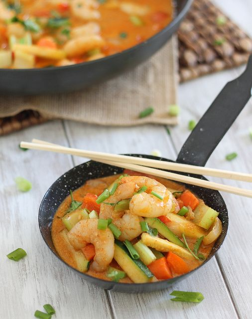 Coconut Red Curry Shrimp | runningtothekitchen.com by ...