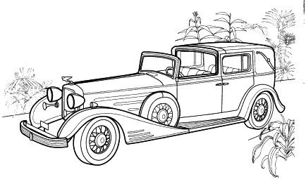 1959 Cadillac Coloring Pages Sketch Templates