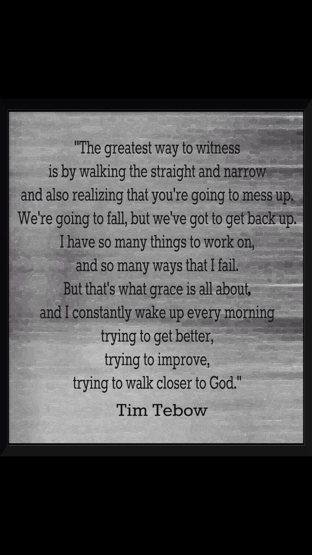 Tim Tebow.