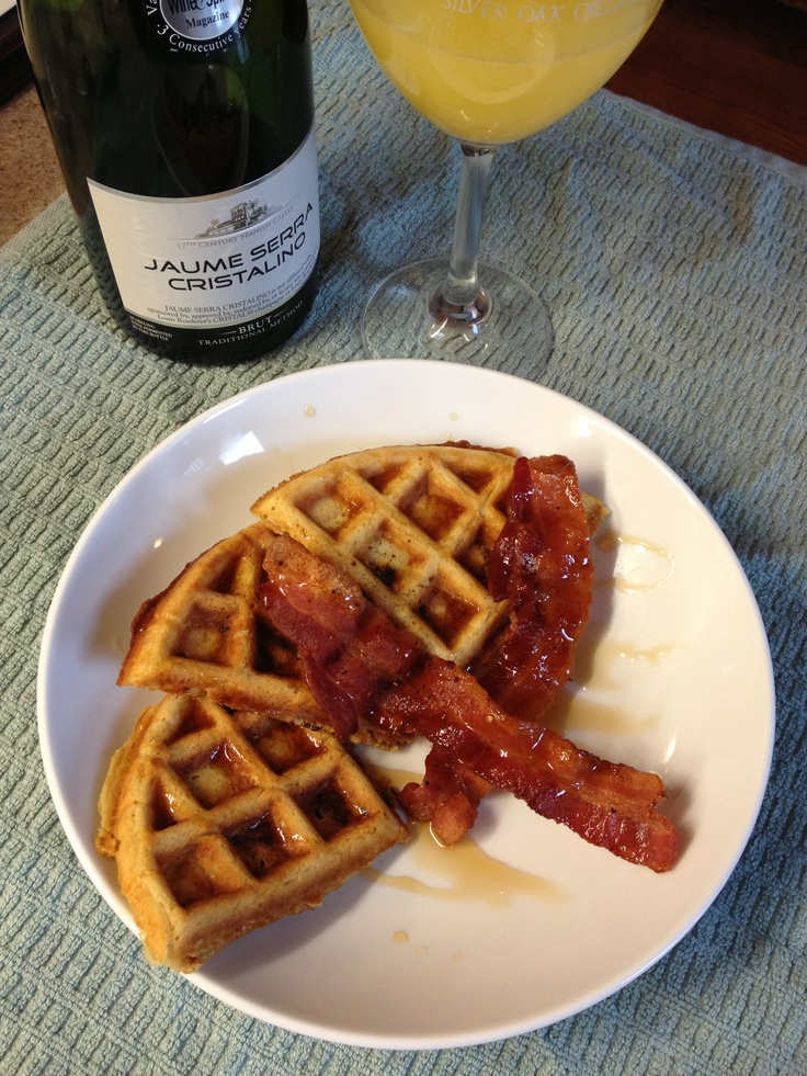 Brown Sugar Bacon Waffles - http://www.babble.com/best-recipes/brown ...