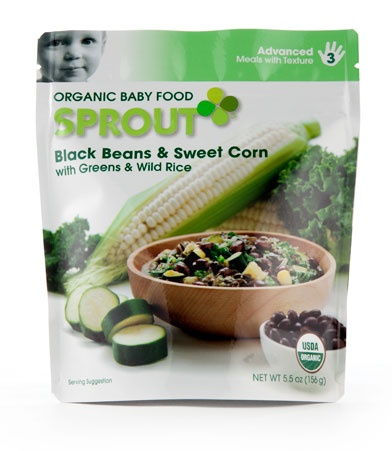 Sprout Black Beans & Sweet Corn with Greens & Wild Rice