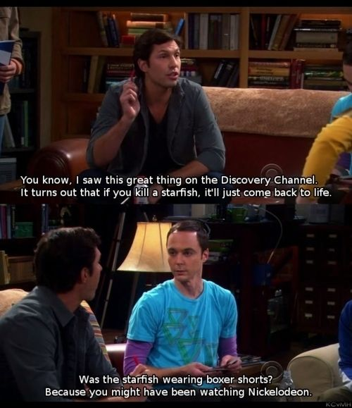 The Wit and Wisdom of Sheldon Cooper