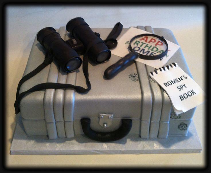Secret Agent Spy Cakes