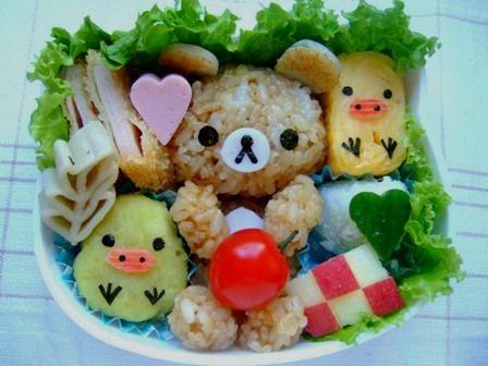 Rilakuma Bento Box Recipe