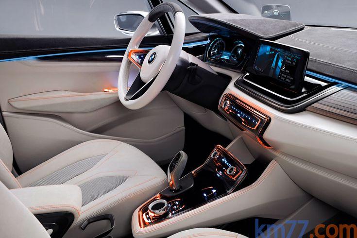 BMW Concept Active Tourer Monovolumen Interior Salpicadero