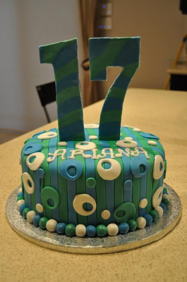 17th birthday cake ideas for girls