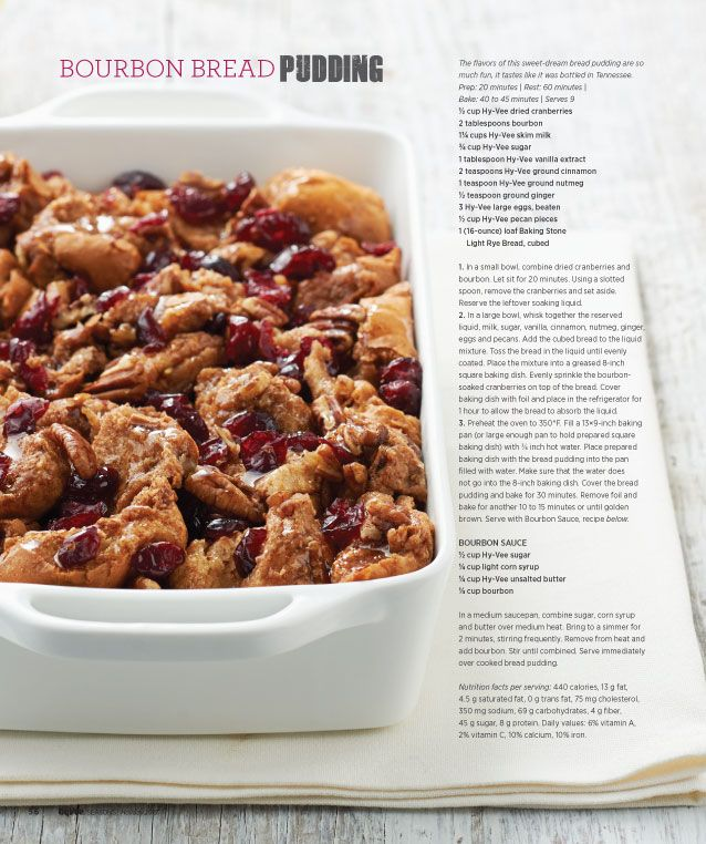 Bourbon Bread Pudding | Recipes | Pinterest