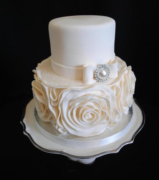 Rosette Cake Design : Rosette cake Awesome cakes Pinterest