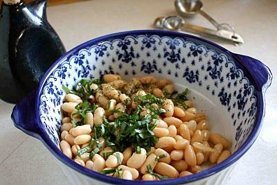 pizza with white beans sauteed spinach with white beans and pine nuts ...