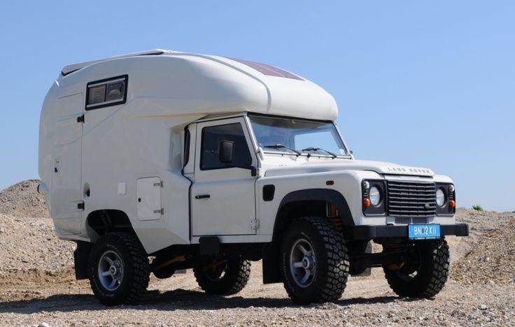 Geocar Landrover Overland Camper Move Pinterest