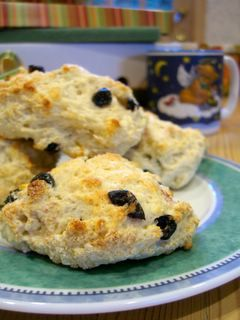 The Cheeseboard's Currant Scones | Baking Bites - Sub margarine for ...