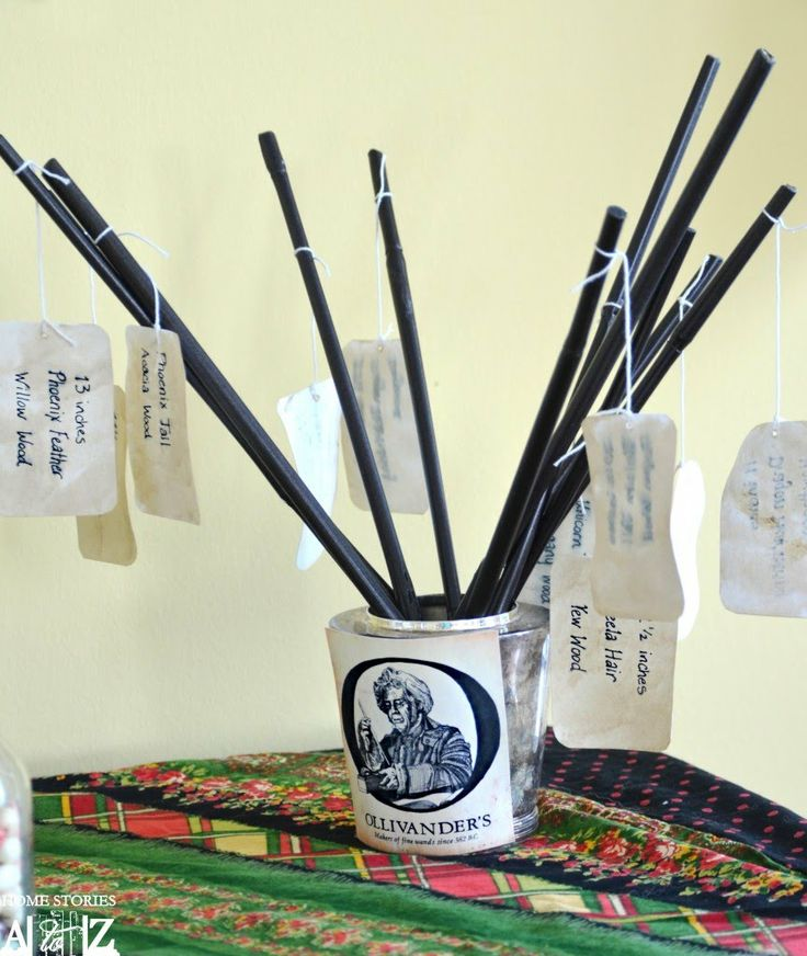 Harry potter wands birthday pinterest for Birthday wand