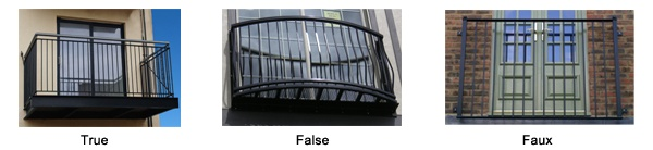types of balconies true false faux home improvement On types of balcony