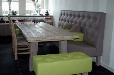 eetkamer_specialist_bank_met_hokkers_400  Home Sweet Home  Pinterest