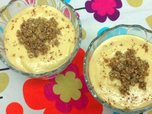 Mango And Ginger Cream Parfaits Recipe — Dishmaps