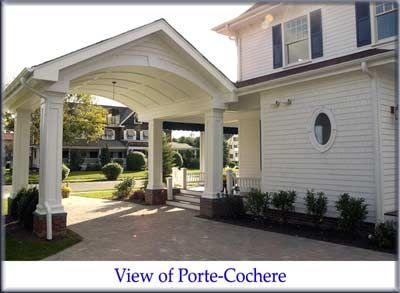 Porte cochere dream home pinterest for What is a porte cochere
