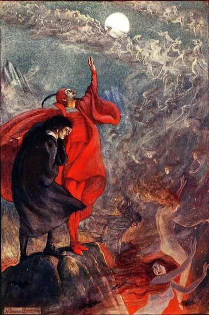 Faust and Marguerite ,1912