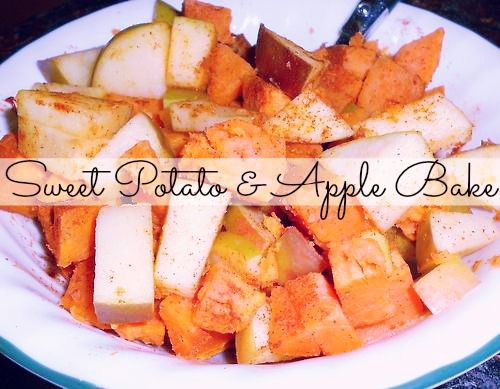 Sweet potato & Apple bake | Healthy Meals | Pinterest