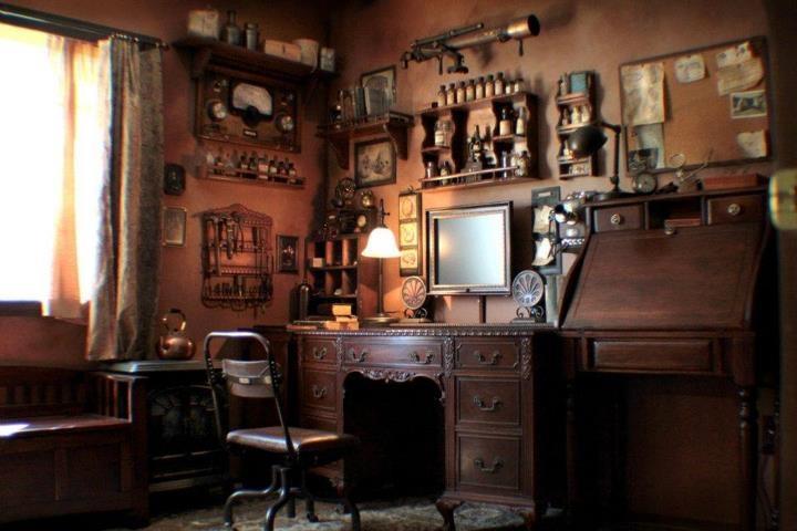 Steampunk Office | Inspiration : Interior Design | Pinterest