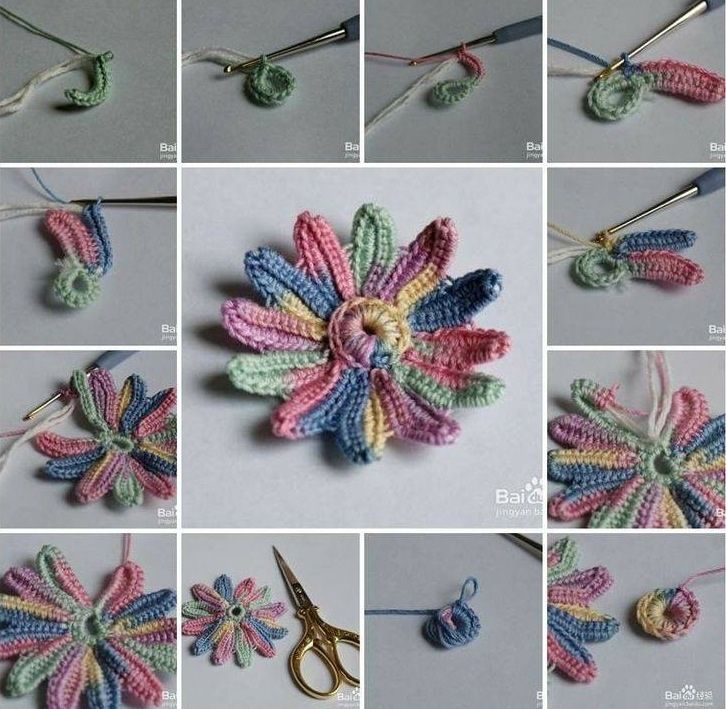 Crochet Tutorial For Beginners : TUTORIAL CROCHET crochet ? quilt Pinterest
