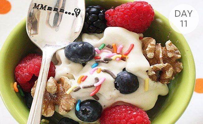 31 Days of Ice Cream Treats: Guiltless Banana Ice Cream