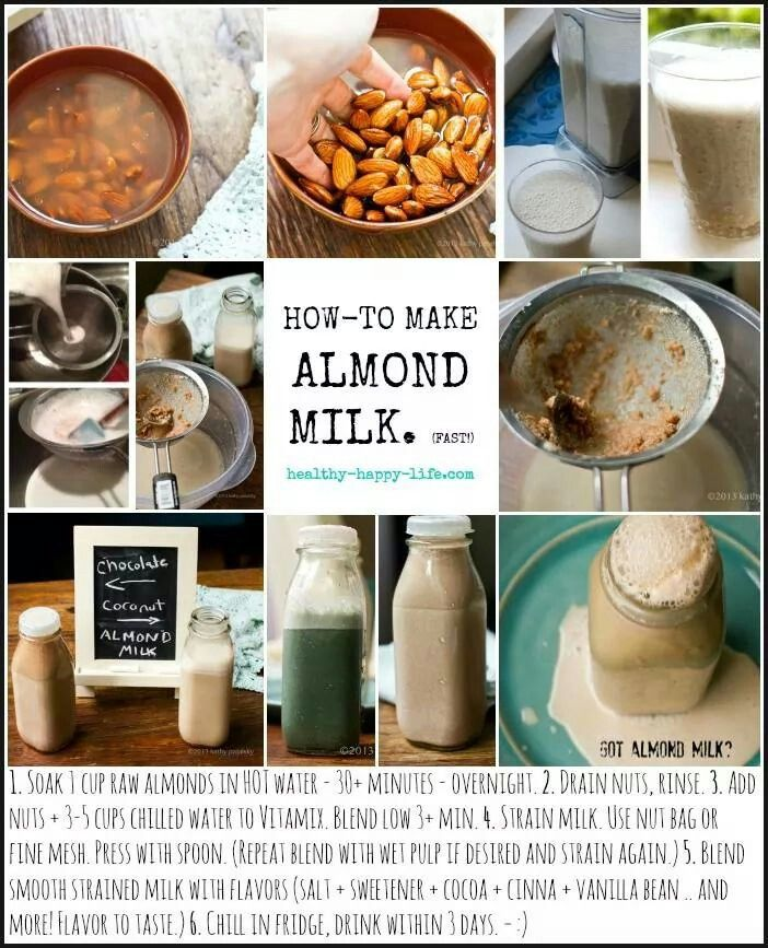 How to make almond milk | Food...the healthy kind | Pinterest