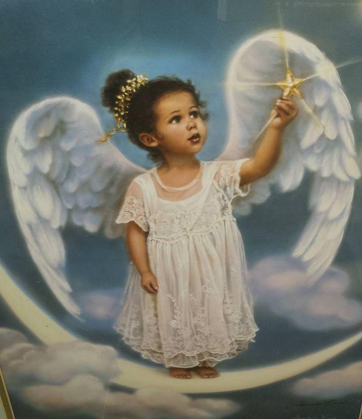 The littlest angel angels pinterest