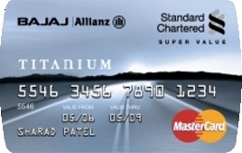 standard chartered credit card reward points india