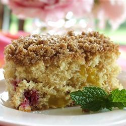Buttermilk Mango-Berry Crumb Cake Allrecipes.com