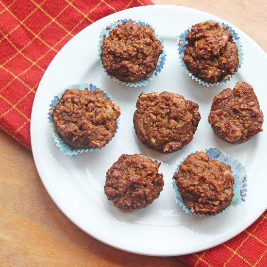Pumpkin Cinnamon Chip Mini Muffins | My Kind of Breakfast | Pinterest