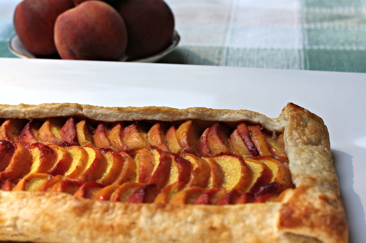 Tequila-Lime Peach Galette | Recipes to try | Pinterest