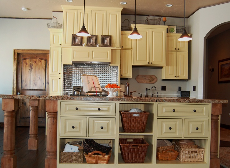 yellow and grey kitchen new living room pinterest