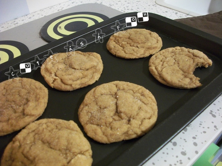 Big Soft Ginger Cookies. Honestly the best ginger molasses cookies I ...