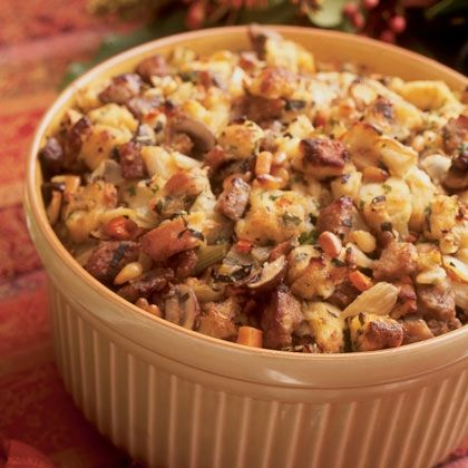 Savory Sausage Stuffing. We made this for thanksgiving, but added 2 ...
