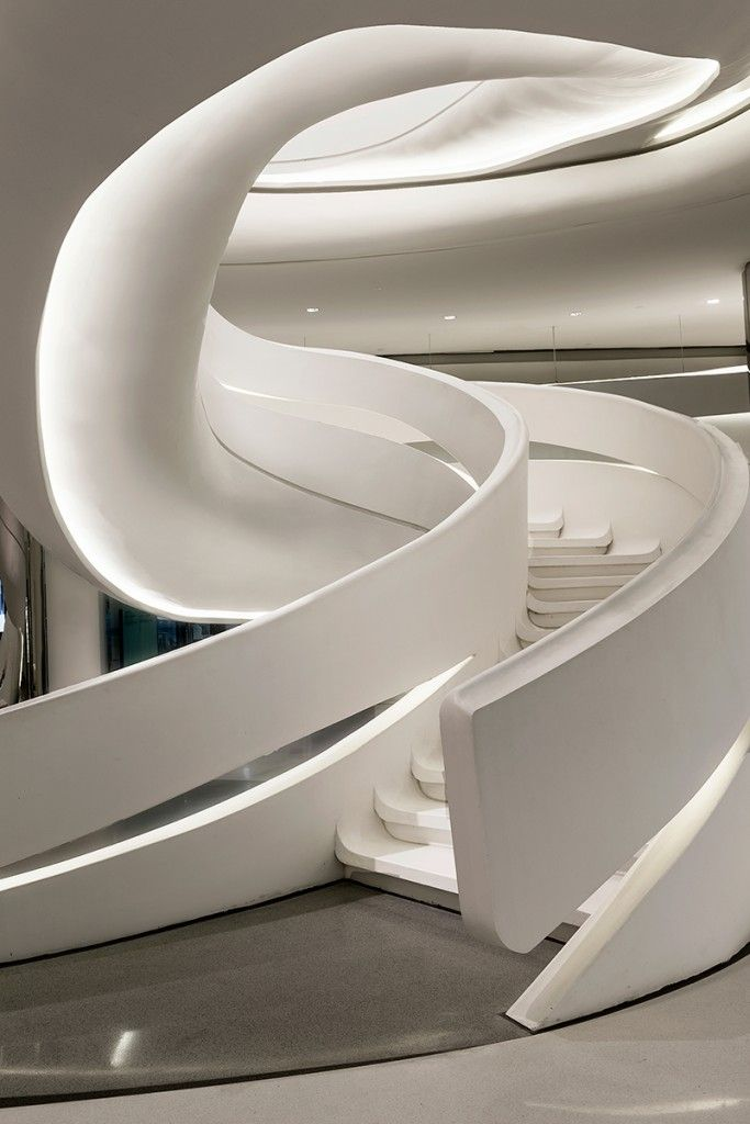 Architecture interior zaha hadid my style stairs for Interior design zaha hadid