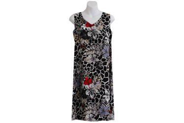 Midnight Hibiscus Hawaiian Dresses