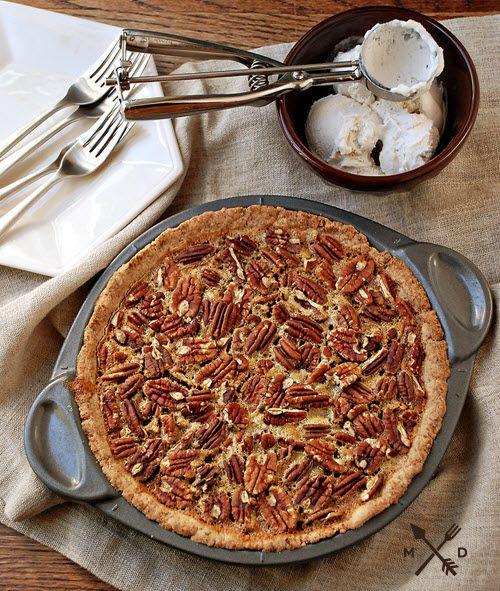 Paleo Maple Cinnamon Pecan Pie   Paleo/Primal Desserts   Pinterest