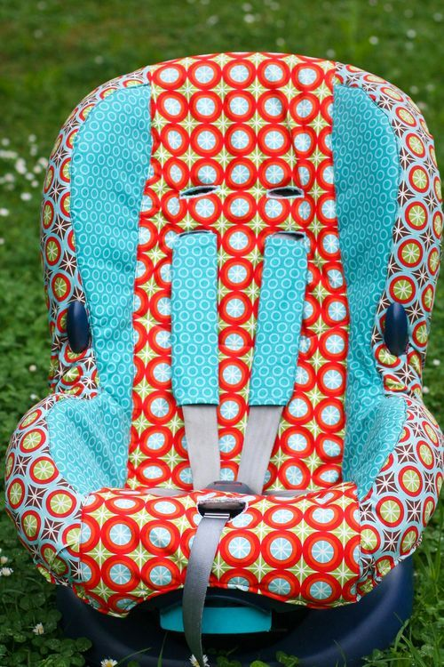 How to make a car seat cover! Love it!