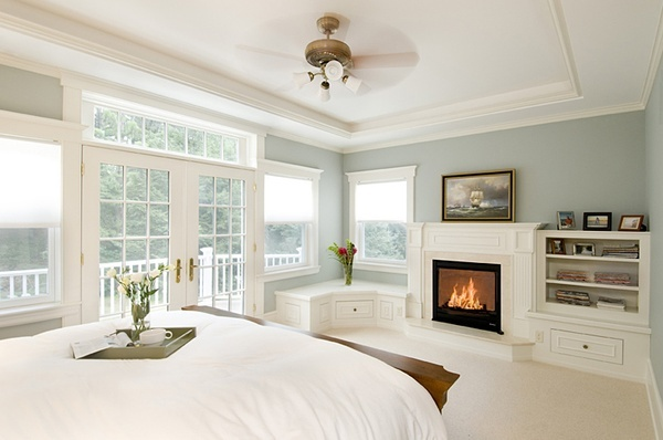 Master Bedroom W Balcony Fire House House Pinterest