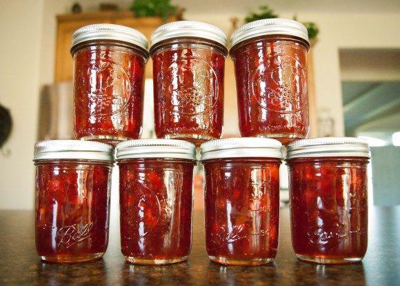 Strawberry-Kiwi Jam | Canning | Pinterest