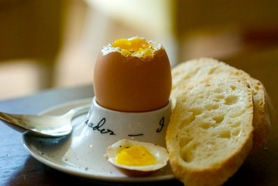 Soft Boiled Egg and Toast Soldiers | B r e a k f a s t | Pinterest